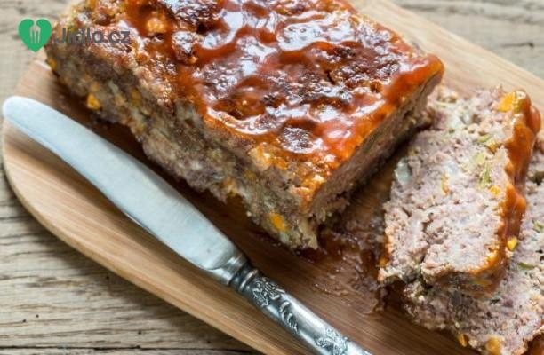 Pečené mleté maso s barbecue omáčkou recept