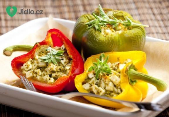 Pečené papriky s nivou recept