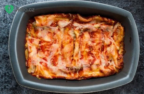 Recept Pečené těstoviny se sýrem