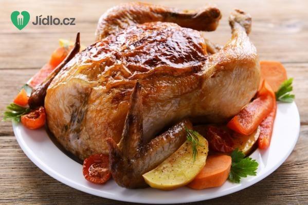 Pečené paprikové kuře recept
