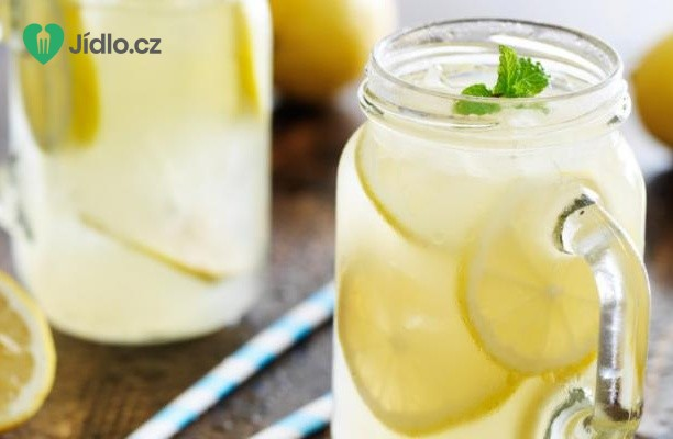Recept Perlivá citronová limonáda