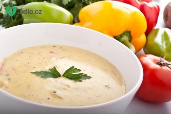 Plíčková polévka se smetanou recept