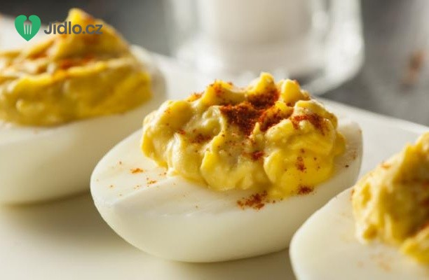 Plněná ďábelská vejce recept