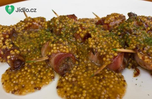 Plněné kuřecí závitky s hořčičným semínkem recept