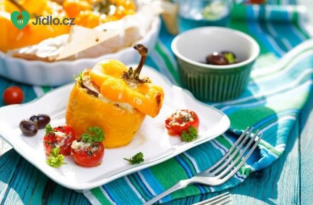 Plněné papriky na řecký způsob recept