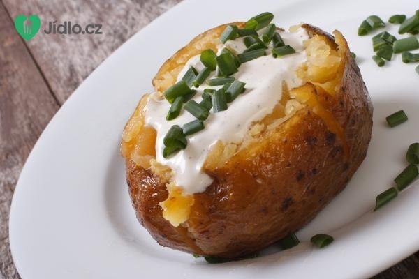 Plněné brambory zapečené v troubě recept