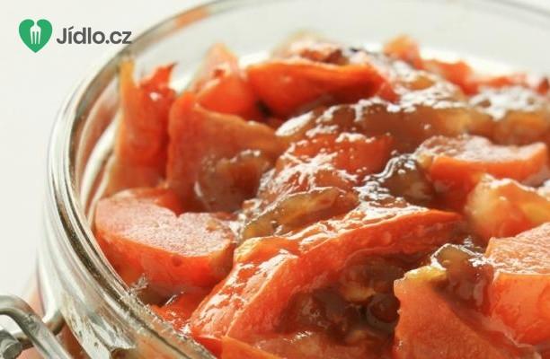 Podzimní rajčatové čatní recept