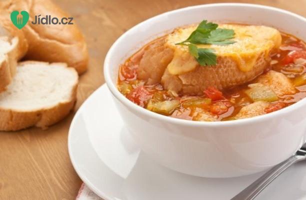 Podzimní zeleninová polévka se sýrovými tousty recept