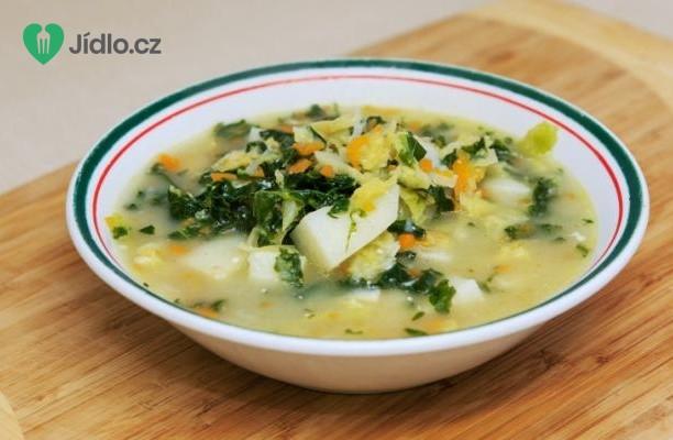 Polévka z bílých fazolí  s česnekovým olejem recept