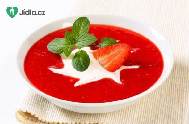 Polévka z jahod, zázvoru a rebarbory recept