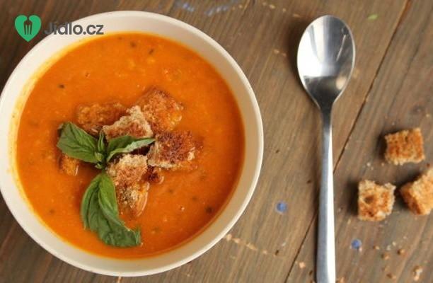 Polévka z mrkve a sladkých brambor recept