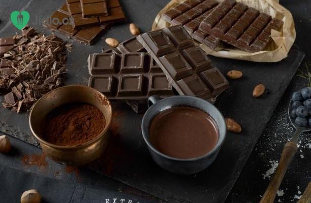 Poleva z čokolády a kávy recept