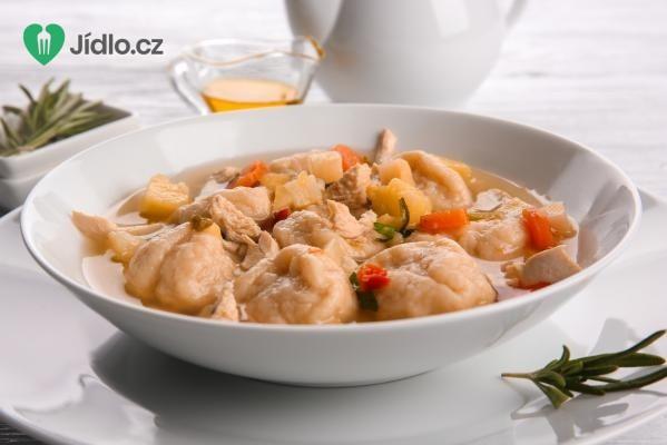 Polévka se zázvorovými knedlíčky recept