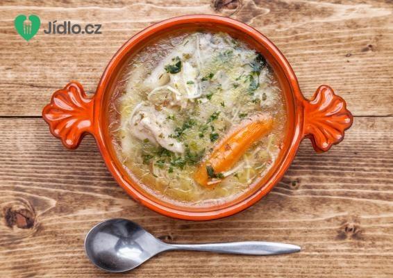 Polévka z kachních nebo husích drůbků recept