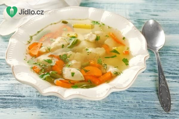 Polévka ze slepičích drůbků recept