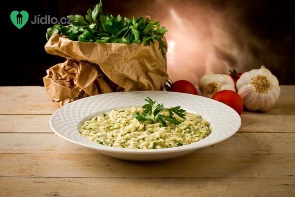 Pravé italské parmazánové rizoto recept