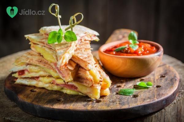 Quesadillas se šunkou a sýrem recept