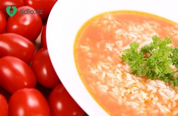 Recept Rajská polévka s rýží