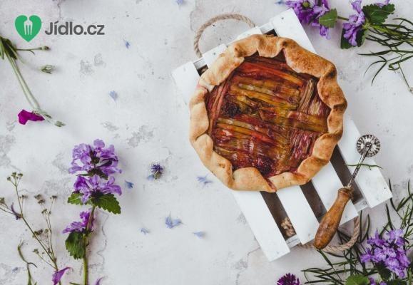 Rebarborový krémový koláč recept