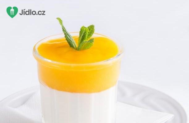 Ricottový krém s mangovou pěnou recept