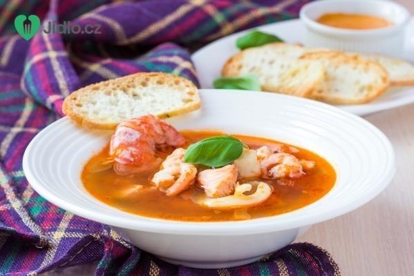Rybí polévka bujabéza recept