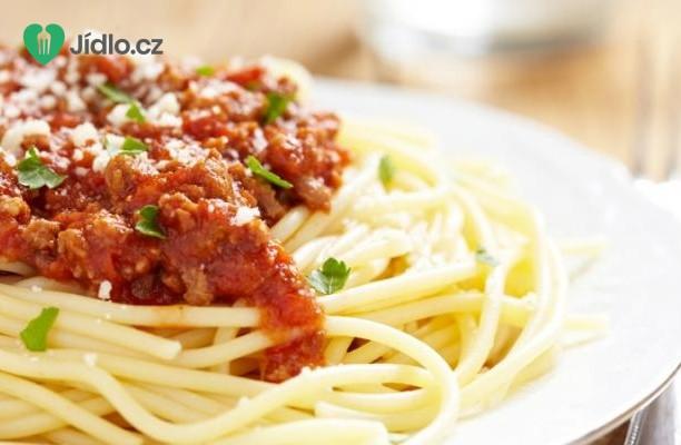 Rychlé a snadné špagety Bolognese recept