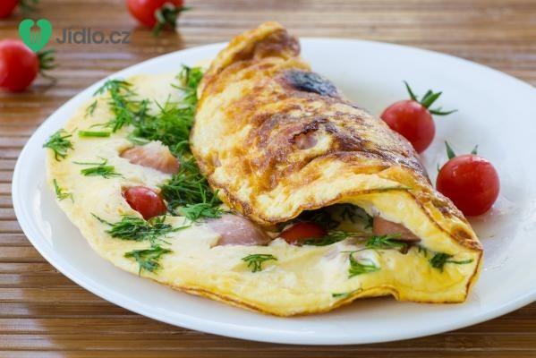 Rychlá zeleninová omeleta recept