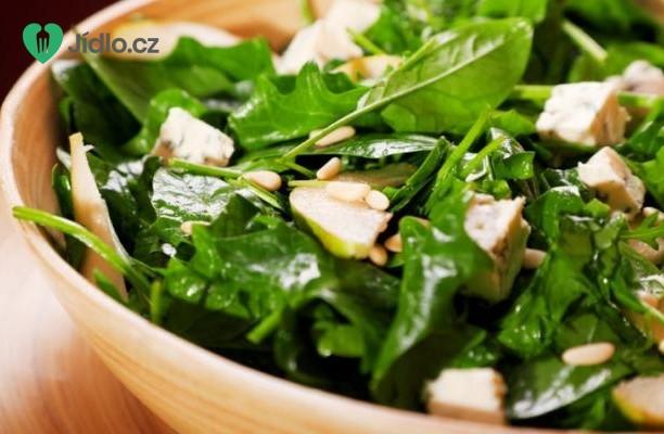 Salát z čerstvého špenátu recept