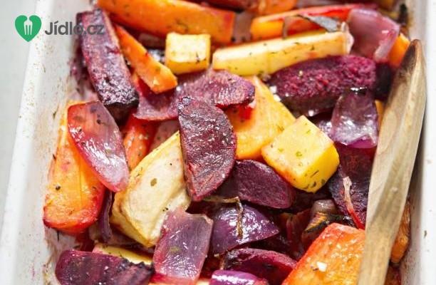 Salát z pečené zeleniny recept