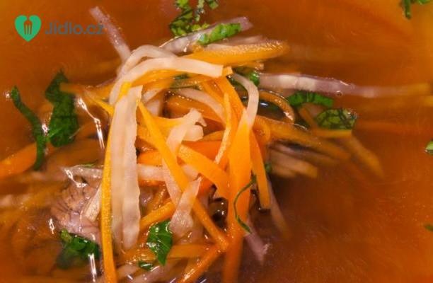 Silná hovězí polévka recept