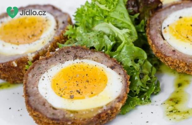 Skotská vejce  s kari majonézou recept