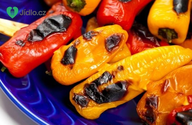 Sladké mini papriky plněné mozzarellou recept