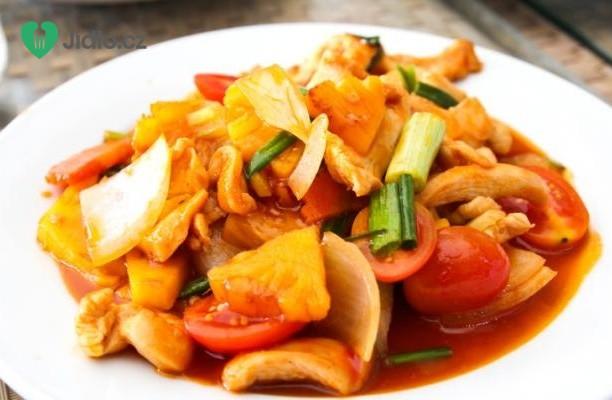 Recept Sladkokyselé kuře