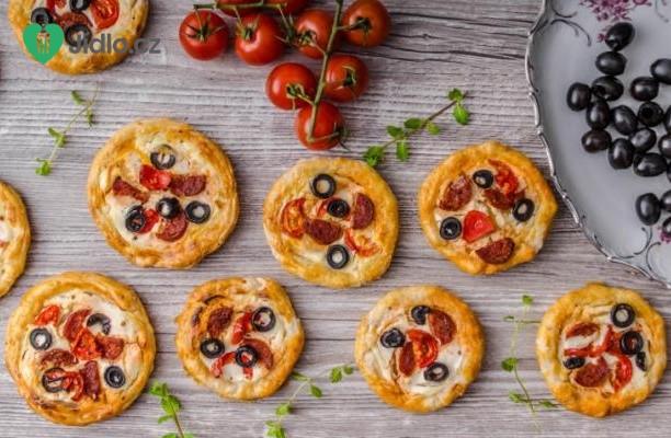 Slané koláčky na piknik recept
