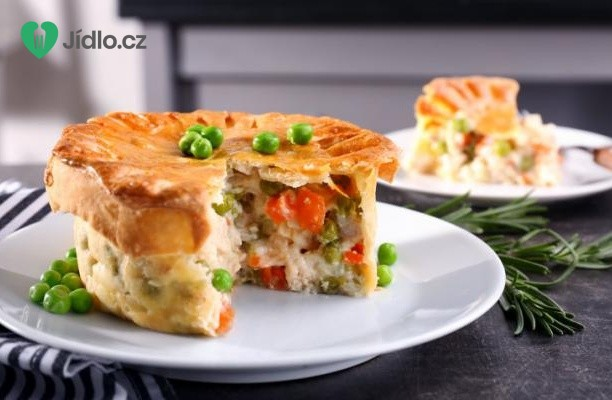 Slaný kuřecí koláč se zeleninou recept