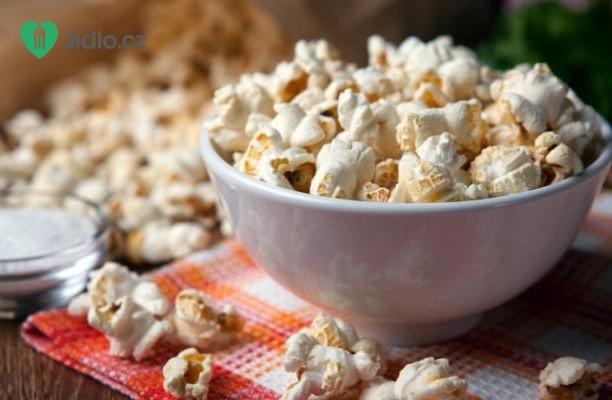 Slaný popcorn recept