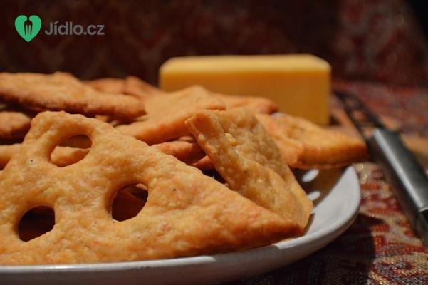 Slané sýrové sušenky recept