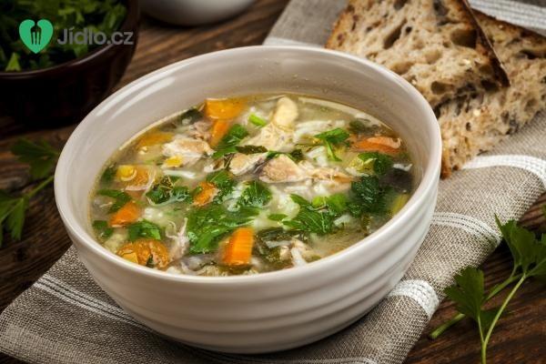 Slepičí polévka recept