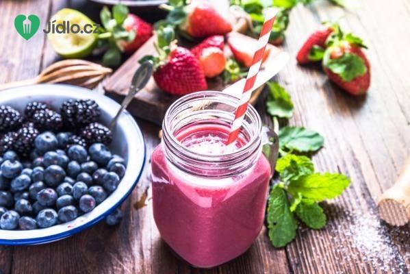 Smoothie z lesního ovoce recept