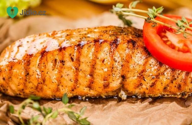 Snadný grilovaný losos recept