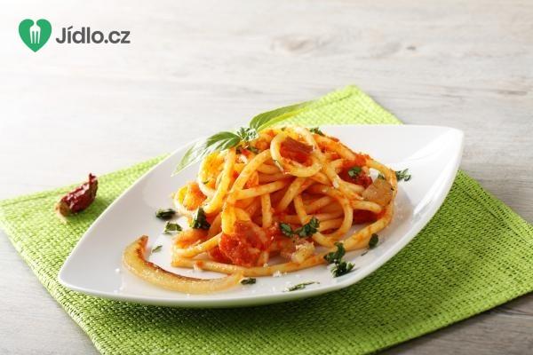 Špagety s pikantní omáčkou recept