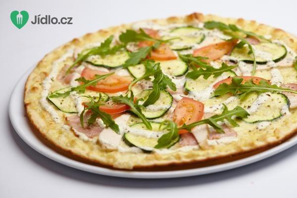 Sýrová pizza s cuketou recept