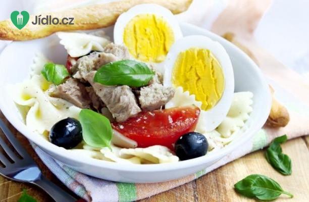Recept Těstovinový salát s tuňákem