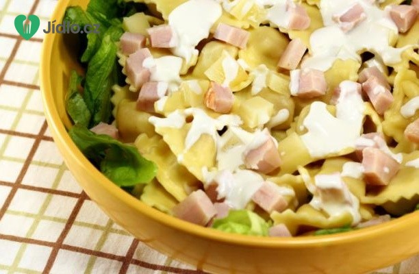 Recept Těstovinový salát se zeleninou a dresinkem