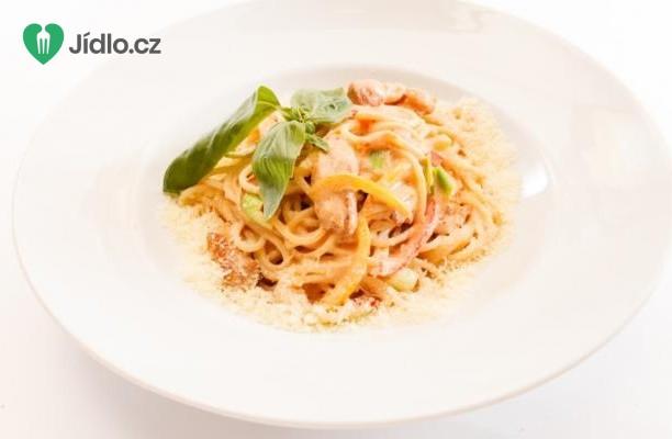 Těstoviny Linguine s krabím masem recept