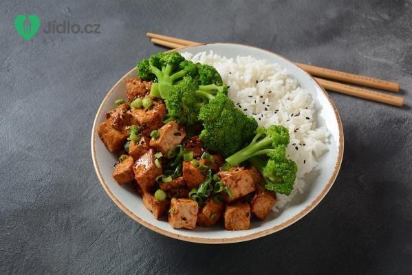 Teriyaki tofu s brokolicí recept