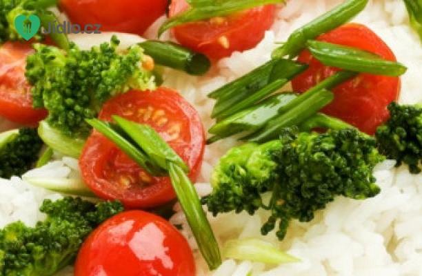 Recept Thajská rýže s brokolicí a rajčaty
