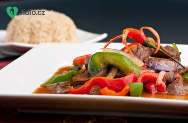 Thajské hovězí kari recept