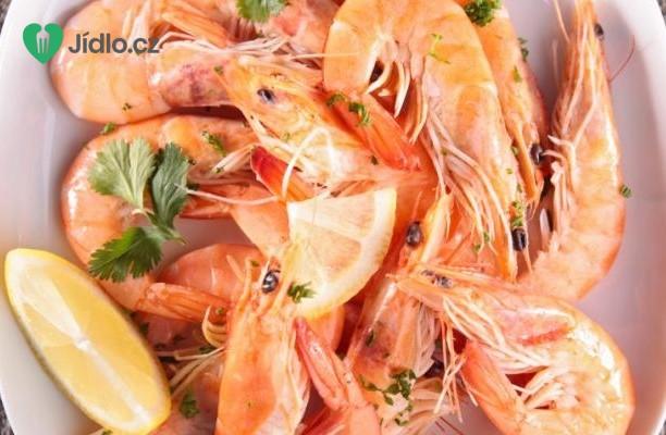 Vařené krevety se zázvorem recept