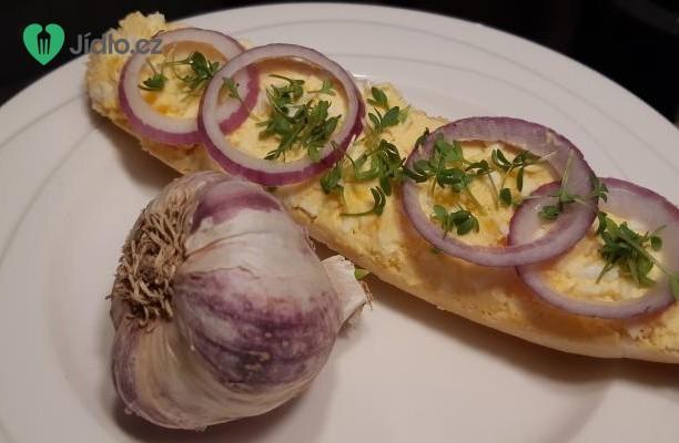 Vajíčková pomazánka trochu jinak recept